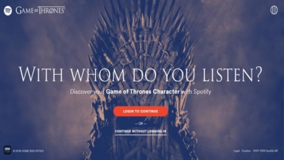 Spotify se une a Game of Thrones! Descubra seu par!