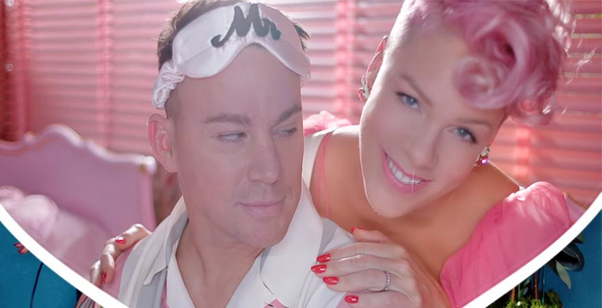 "Channing Tatum e P!nk dançam no clipe de ""Beautiful Trauma"""