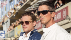 """Ford vs Ferrari"" com Matt Damon e Christian Bale"